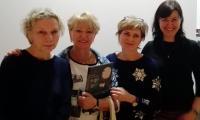 Iwona Chmielewska,  Jolanta Liczkowska-Czakyrowa, Anna Piątek i Danuta Potręć