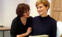 R. Strzemeska i D. Potręć - trenerki edukacji globalnej