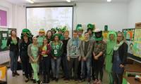 Uczestnicy II Miedzyszkolnego Konkursu o Św. Patryku
