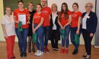 Drużyna zwycięska -  I Liceum Ogólnokształcące w Inowrocławiu