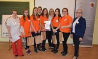 Drugie miejsce zajęła drużyna z Zespół Szkół Ponadgimnazjalnych nr 2 w Inowrocławiu