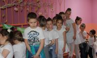 Grupa dzieci 5-6 letnich z Przedszkola Publicznego nr 19 Bajka we Włocławku, nauczyciel- Małgorzata  Rosińska