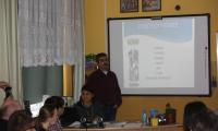 Prezentacja projektu przez partnera z Turcji