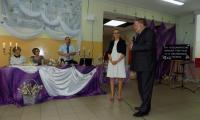 Członkowie Zarządu Województwa Aneta Jędrzejewska i Sławomir Kopyść składają podziękowania i gratulacje organizatorom konkursu