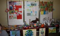 Wystawa prac projektowych uczniów klas I i II