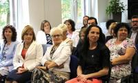 Zaproszeni goście i pracownicy KPCEN we Włocławku