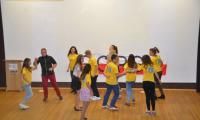 Spontaniczny taniec laureatów Kunkursu