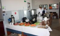 Przygotowania do warsztatow dla personelu kuchennego