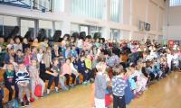 Uczestnicy Targow Sportowych - przedszkola i kl.I -I