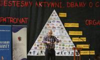Fizjoterapeuta Michał Wszelaki