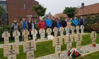 Na cmentarzu w Alphen Holandia