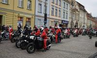 Przejazd Motomikołajów do szpitali