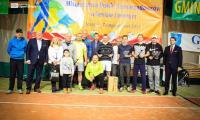 Medaliści VII edycji Halowych Mistrzostw Polski Samorządowców w tenisie