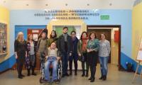 Delegacja gruzińska w KPSOSW