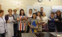 Warsztaty kulinarne w Zespole Szkół Centrum Kształcenia Praktycznego w Grubnie