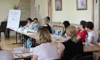 """Szkolenie """"Coaching rodzinny – techniki i narzędzia wsparcia systemu rodzinnego"""", Inowrocław 23-24 maj 2017r. fot. Departament Spraw Społecznych, Wdrażania EFS i Zdrowia"""