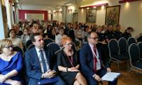 Uczestnicy konferencji  Przeciwdziałanie przemocy – warsztaty dla profesjonalistów, Włocławek, 6 czerwca 2017, fot. komenda Miejska Policji we Włocławku