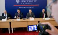 IV posiedzenie plenarne Kujawsko-Pomorskiej Wojewódzkiej Rady Dialogu Społecznego - Zdjęcia udostępnione przez Kujawsko-Pomorski Urząd Wojewódzki
