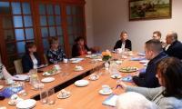 Spotkanie superwizyjne prowadzone przez p. Katarzynę Łęgowską, Włocławek 30..XI.2017 r., fot. Biuro Wsparcia Rodziny i Przeciwdziałania Przemocy