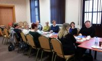 Spotkanie superwizyjne prowadzone przez p. Renatę Durdę, Grudziądz 6.XII.2017 r., fot. Biuro Wsparcia Rodziny i Przeciwdziałania Przemocy