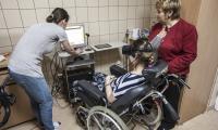 Zakład opiekuńczo-leczniczy toruńskiej Fundacji Światło, fot. Andrzej Goiński