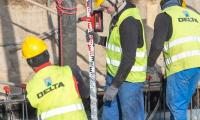Operacja wylewania betonu pod fundamenty nowego budynku głównego, fot. Szymon Zdziebło/tarantoga.pl dla UMWKP