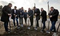Uroczyste rozpoczęcie przebudowy drogi w Słębowie, fot. Tymon Markowski