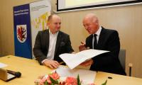 Uroczystość podpisania umów o dofinansowaniu z RPO, fot. Mikołaj Kuras