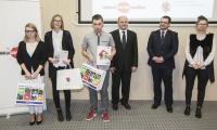 Uroczyste wręczenie nagród laureatom wojewódzkiego etapu Olimpiady Solidarności, fot. Andrzej Goiński