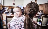 """Spotkanie informacyjne ,,Mama może wszystko!"""" w Toruniu, fot. Andrzej Goiński"""