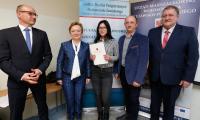 Spotkanie stypendystów w Państwowej Wyższej Szkole Zawodowej we Włocławku, fot. Mikołaj Kuras