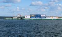 Inauguracja rejsu kontenerowego w Porcie Gdańsk, fot. Rafał Modrzewski