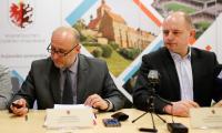 Konferencja prasowa po kwietniowym Komitecie Monitorującym RPO, fot. Mikołaj Kuras