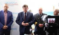 Zakończenie rejsu kontenerowego w Warszawie, fot. Rafał Modrzewski