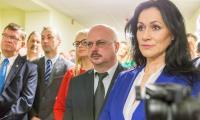 Uroczystość otwarcia nowego lokum dla neurologii i okulistyki w Szpitalu im. Popiełuszki, fot. Szymon Zdziebło/tarantoga.pl dla UMWKP