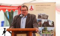 Uroczystość rozpoczęcia budowy drogi nr 548 w Lisewie, fot. Mikołaj Kuras