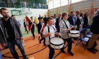 Uroczyste otwarcie sali gimnastycznej w Świerczynkach, fot. Mikołaj Kuras