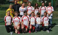 Uczestniczki turnieju dziewcząt – SP Królikowo