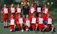 Uczestniczki turnieju dziewcząt – SP Lubiewo
