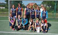 Uczestniczki turnieju dziewcząt – SP Łochowo