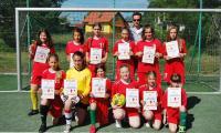 Uczestniczki turnieju dziewcząt – SP Śliwice
