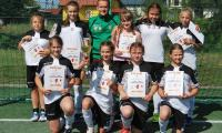 Uczestniczki turnieju dziewcząt – Trójka Górsk