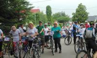 Rodzinny rajd rowerowy w Brodnicy, fot. Jacek Grzybowski