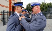 Uroczyste otwarcie wyremontowanego budynku Komendy Powiatowej Policji w Chełmnie