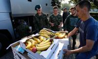 Wolontariusze oraz strażacy ochotnicy pomagali w usuwaniu skutków nawałnicy w gminie Sośno, fot. Mikołaj Kuras