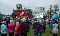 """W sobotę odbyło się prawykonanie oratorium  """"Non omnis moriar – we mnie jest miejsce spotkania"""", fot. Tymon Markowski"""
