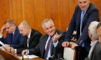 Wobec Brukseli musimy mówić jednym głosem; spotkanie podsumowujące dotychczasowe zabiegi samorządu województwa o wsparcie z FSUE; fot. Mikołaj Kuras dla UMWKP