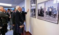 """Wizyta gości ze Szkocji i otwarcie wystawy """"Polskie Drogi do Wolności"""" w Urzędzie Marszałkowskim, fot. Andrzej Goiński"""