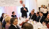 W Przysieku miała miejsce uroczysta kolacja na cześć osób zasłużonych dla niepodległościowych tradycji Ojczyzny, fot. Andrzej Goiński