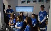 Wizyta gości w Astrobazie w Kruszwicy, fot. Przemysław Bohonos